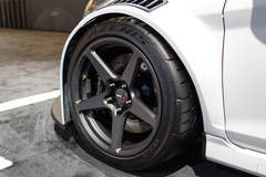 Tucci Hot Rods Widebody Ford Fiesta ST on Forgeline One Piece Forged Monoblock CF1R Wheels