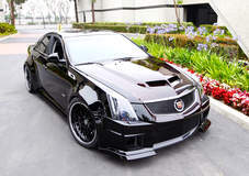 Widebody CTS-V Sedan by D3Cadillac on Forgeline MD3P Wheels
