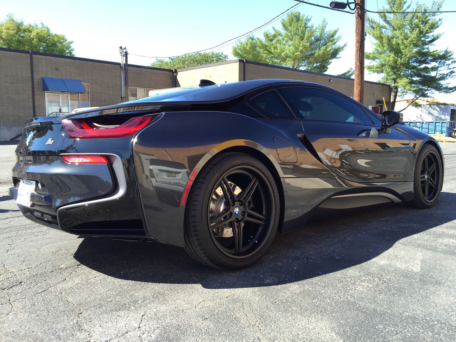 2015 BMW i8 | BMW i8 on Forgeline SC3C Wheels