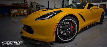 Lingenfelter's C7 Corvette on Forgeline VX3C Wheels