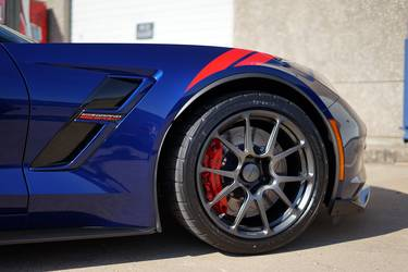 2017 Chevrolet Corvette | Dan Parmelee's C7 Corvette Grand Sport on Forgeline One Piece Forged Monoblock GS1R Wheels