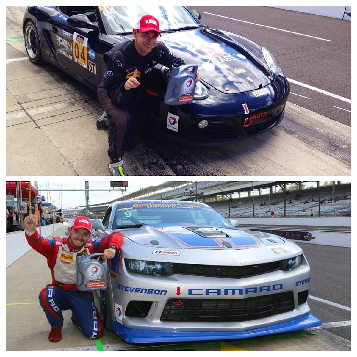 | Forgeline Cars Earn Pole Positions in BOTH Classes of CTSCC at The Brickyard