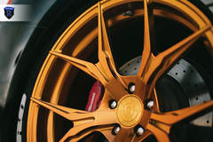 Lowered Maserati Ghibli - Close-Up Wheel Shot