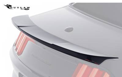2015-17 MUSTANG OUTLAW REAR DECKLID SPOILER