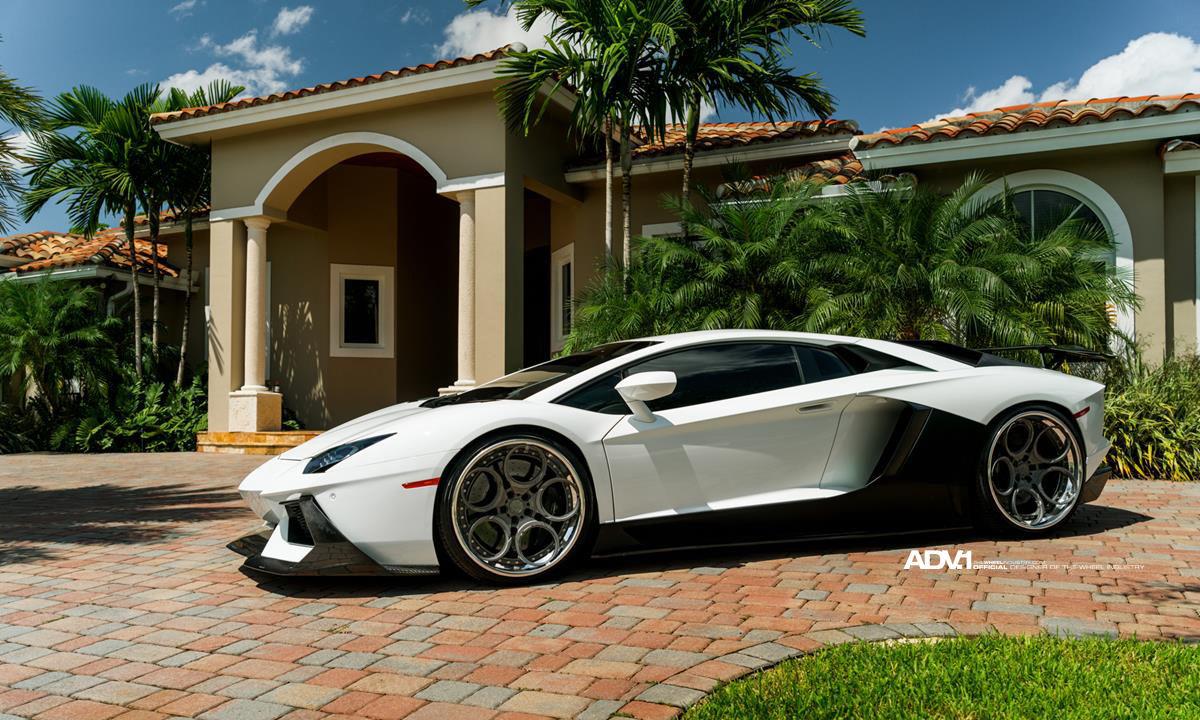 Lamborghini Aventador | ADV.1 Wheels Lamborghini Aventador LP700  Compilation Of WIN