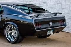 """Steve Engberg's """"Elvira"""" '69 Boss 600 Mustang on Forgeline SP3P Wheels"""