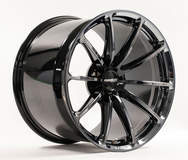 Forgeline One Piece Forged Monoblock GT1 5-Lug in Black Chrome PVD