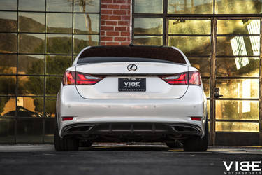 "2014 Lexus GS 350 | Lexus GS350 on 20"" Gianelle Wheels - Rear Profile Shot"