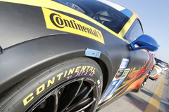 Continental Tire in plains sight at the Rolex 24