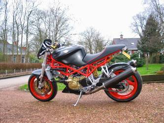 The Franken-Monster Ducati
