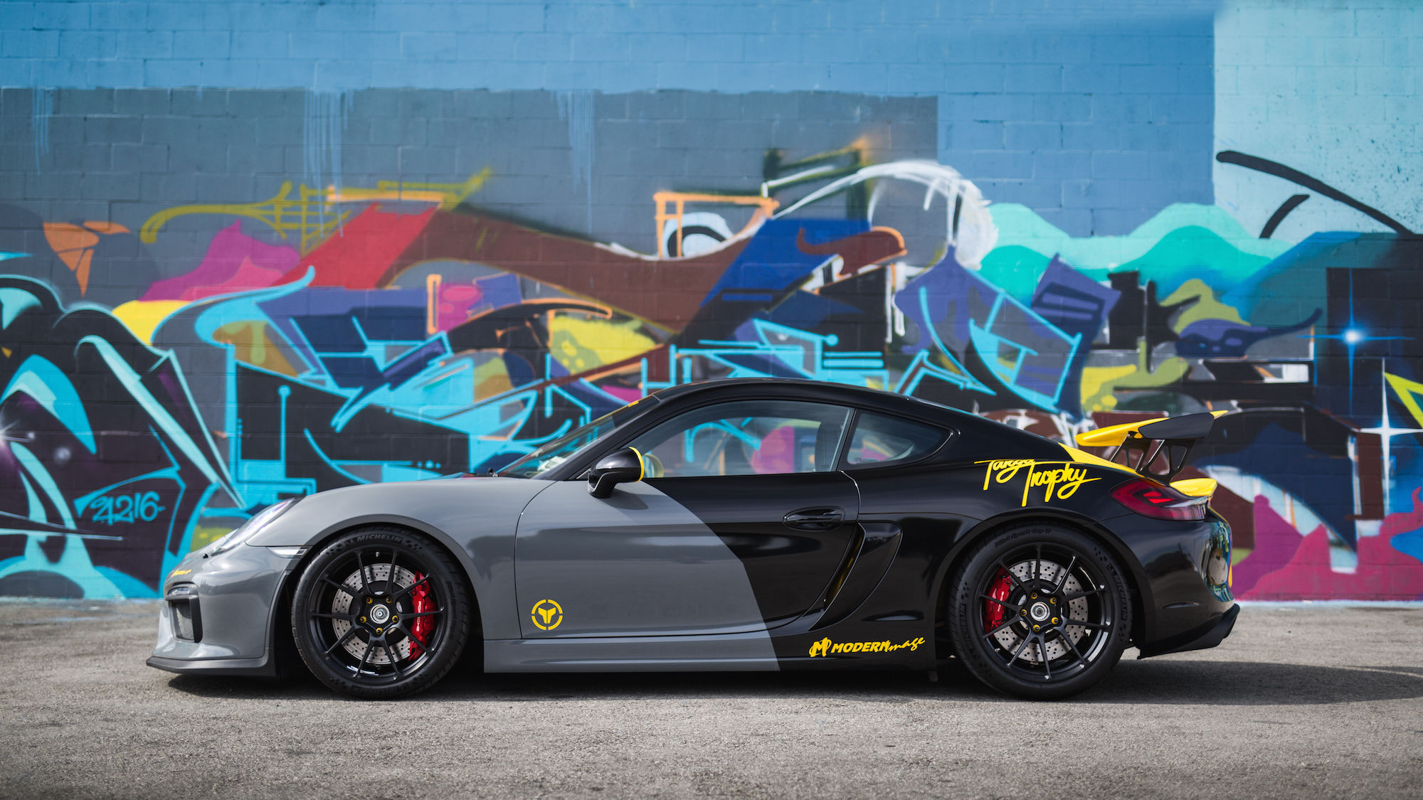 2017 Porsche Cayman | Jason's Targa Trophy Porsche Cayman GT4 on Forgeline One Piece Forged Monoblock GS1R Wheels