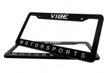 VIBE License Plate Frame