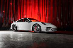 Wheel Experts Porsche GT3 on Center Locking Forgeline Carbon+Forged CF205 Wheels
