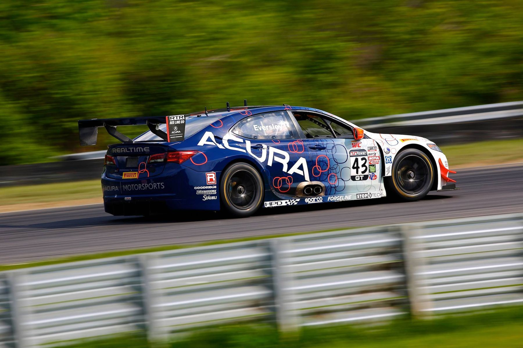 2016 Acura TLX | Ryan Eversley Earns Hard Charger at Lime Rock