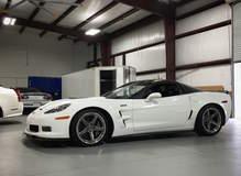 Garett's Hennessey-Powered C6 Corvette ZR1 on Forgeline CF3C Concave Wheels