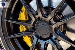 Matte Purple Cadillac CTS-V - Wheel