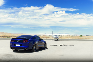 2013 Ford Mustang | '13 Ford Mustang on Concept One CS6'0's