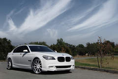 BMW 750i on Lexani LS709's