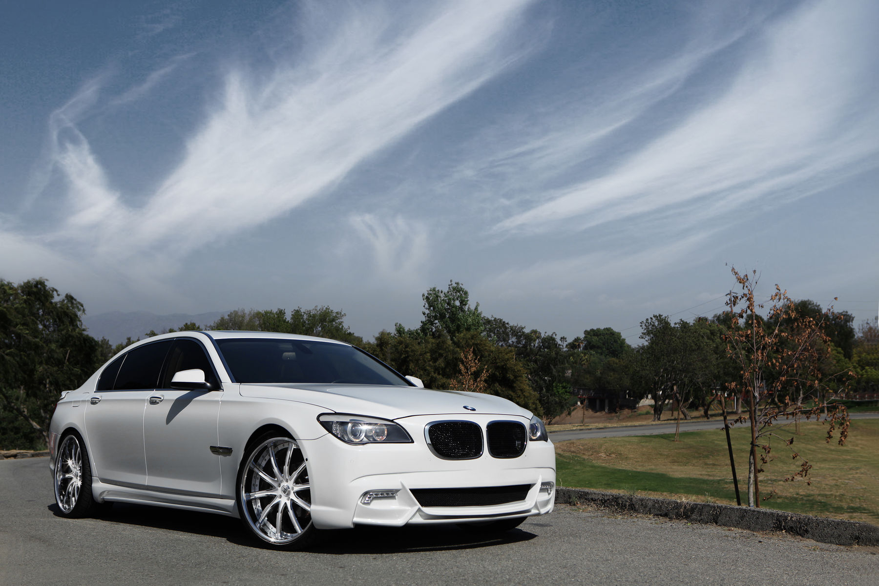 2014 BMW 7 Series | BMW 750i on Lexani LS709's