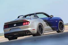 Neiman Marcus Limited Edition Mustang Convertible on Grip Equipped Grudge Wheels