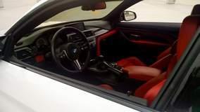 Sakhir Orange M4 Full Leather Interior