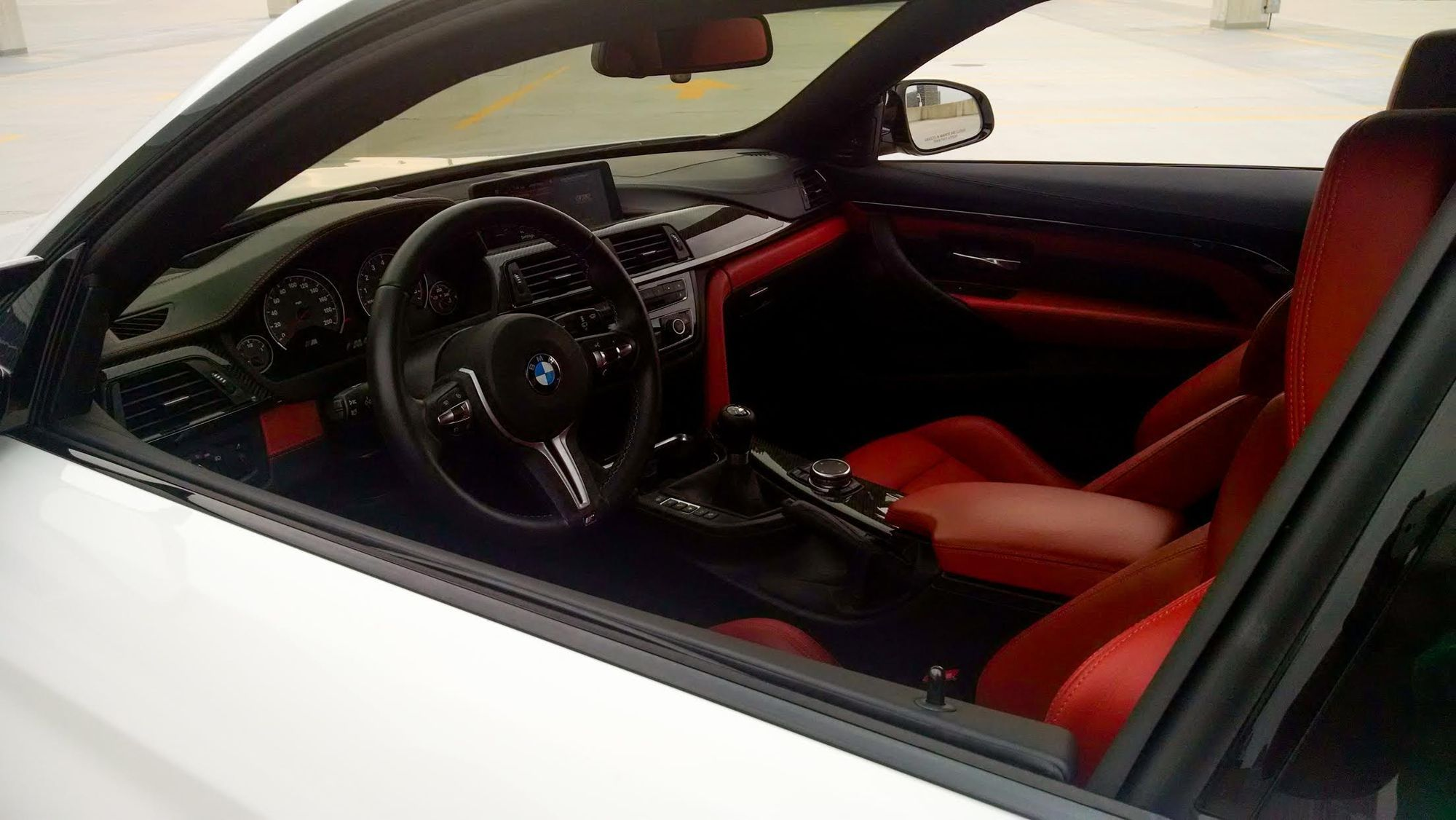 Sakhir Orange M4 Full Leather Interior