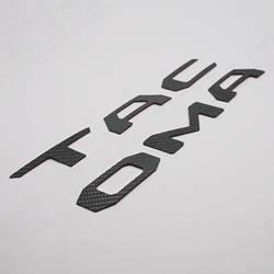 2016 Toyota Tacoma | 2016 Toyota Tacoma Tailgate Gloss Carbon Fiber Logo Insert