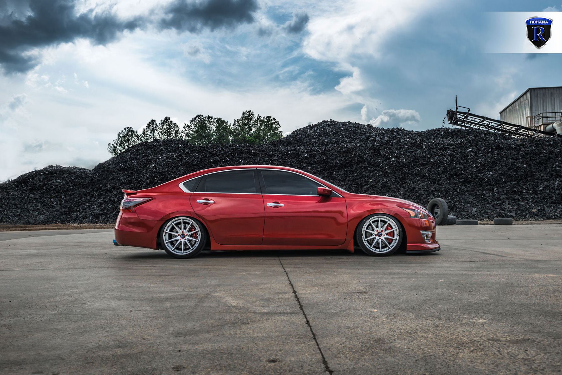 Custom nissan maxima lowered for Garage nissan terville 57