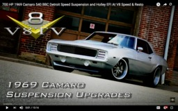 V8 Speed & Resto Pro-Touring '69 Camaro on Forgeline ZX3P Wheels