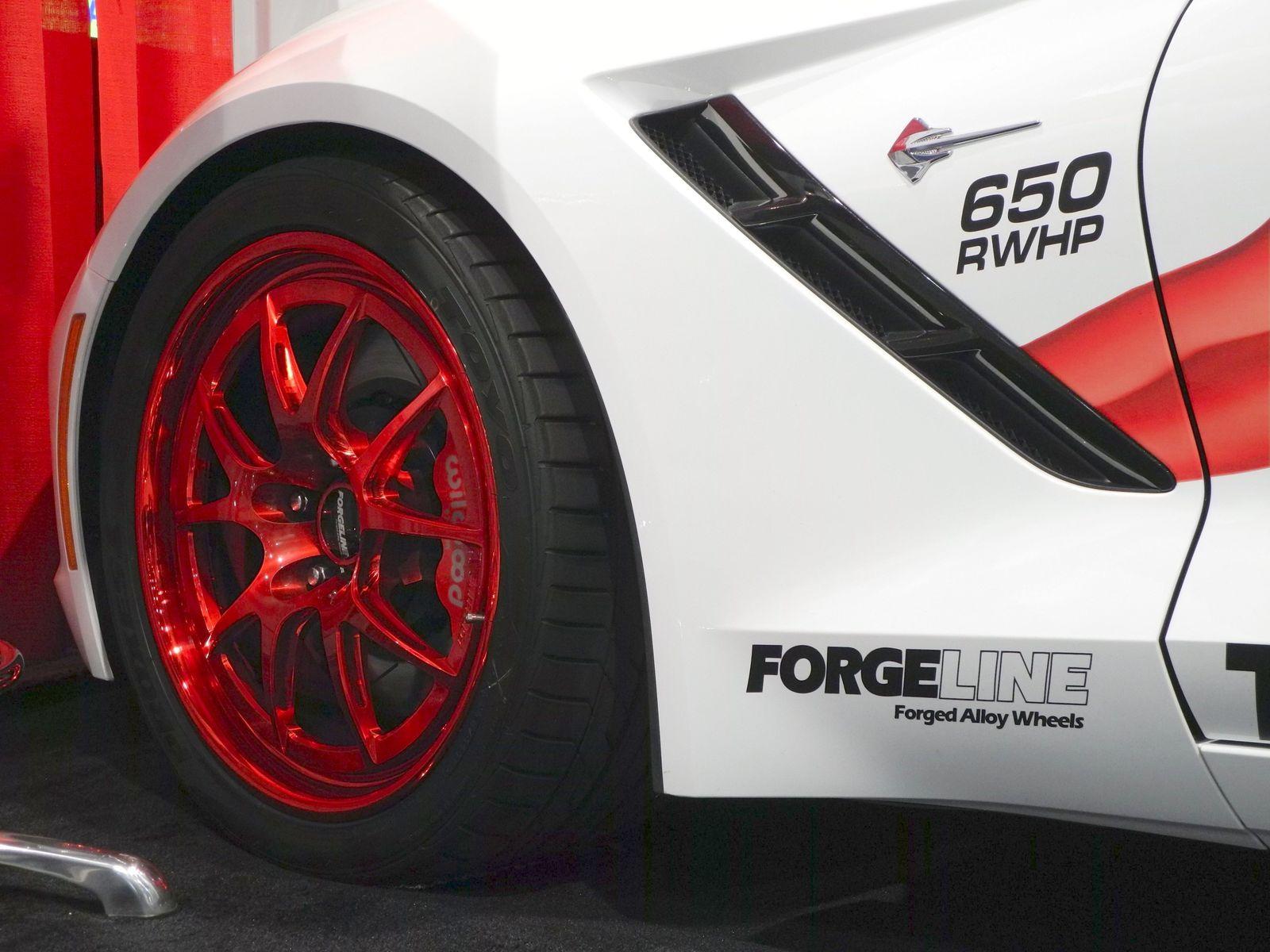 2014 Chevrolet Corvette Stingray | STS Turbo's Turbocharged C7 Corvette Stingray on Forgeline GA3R Wheels