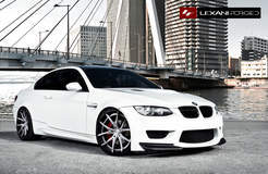 BMW M3 on Lexani LZ-102's