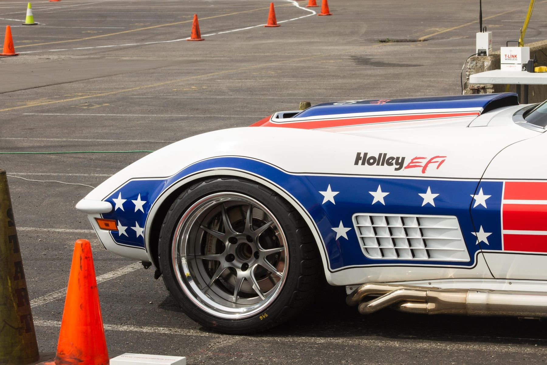 1972 Chevrolet Corvette Stingray | Ryan Mathews Wins Goodguys Nashville Nationals Autocross Shootout on Forgeline GA3 Wheels