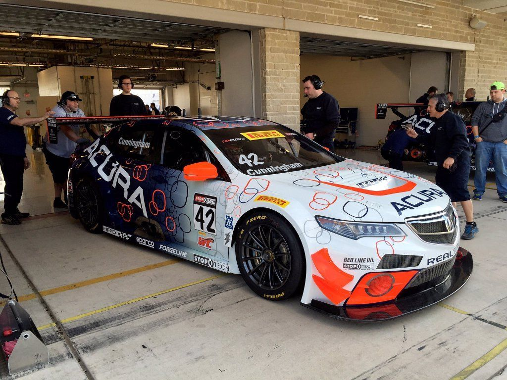 2016 Acura TLX   RealTime Racing Acura TLX-GT on Forgeline One Piece Forged Monoblock GTD1 Wheels