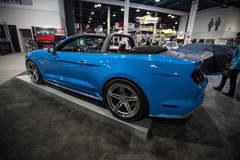 Petty's Garage King Premier Edition Mustang Convertible on Forgeline SC3C-SL Wheels