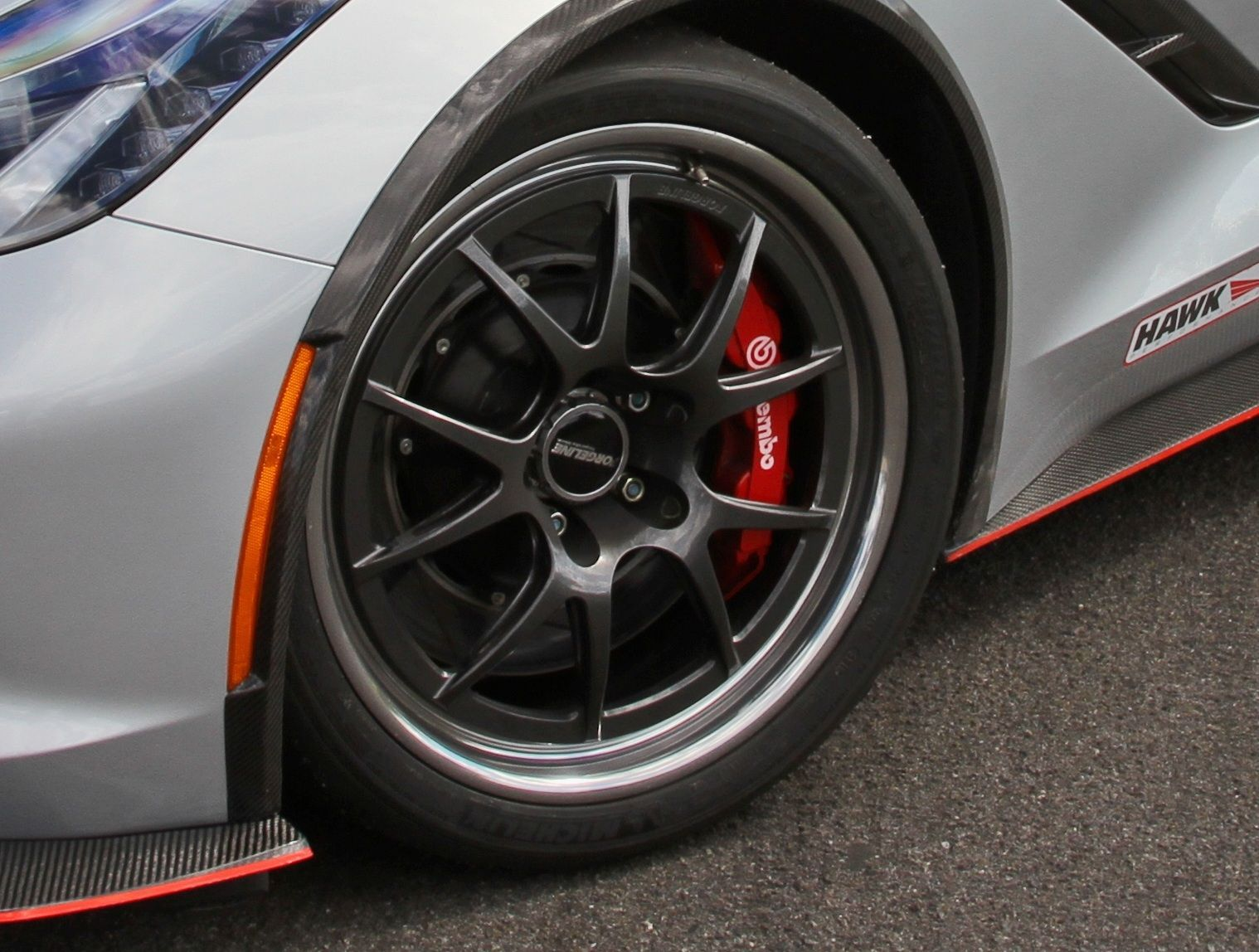 2014 Chevrolet Corvette Stingray | Forgeline GA3R Wheel on the Nowicki Autosport Concept7 C7 Corvette