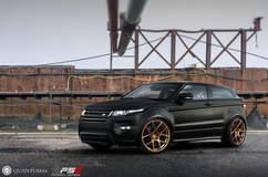 Quantum44 FS5 Forged wheels + Range Rover Evoque