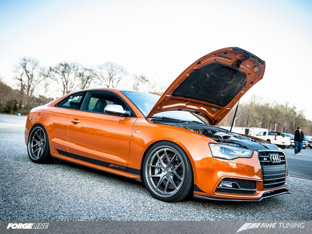 2013 Audi S5 | AWE Tuning's Audi S5 on Forgeline VX3C Concave Wheels