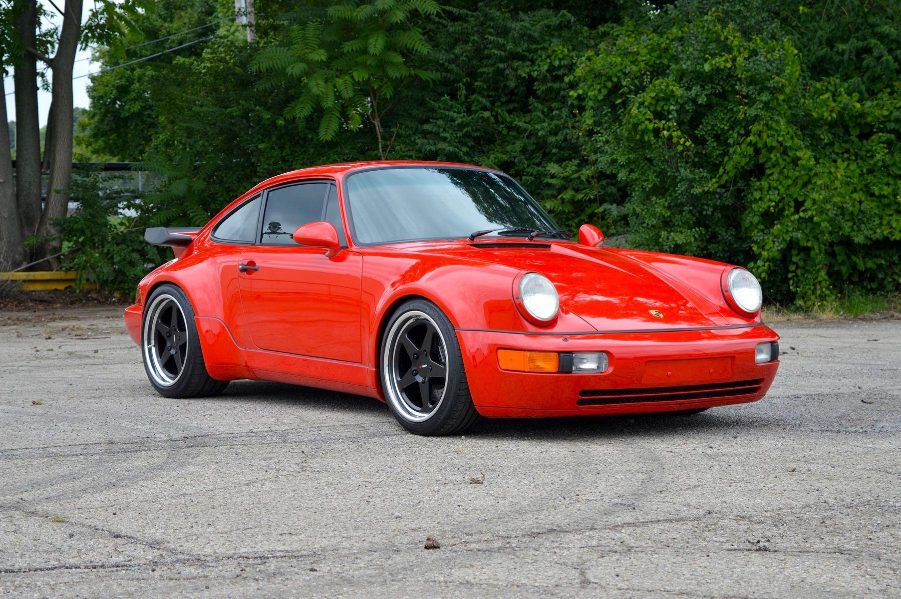 1991 Porsche 964 | Dave Schardt's Porsche 964 Turbo on Forgeline Heritage Series FF3 Wheels