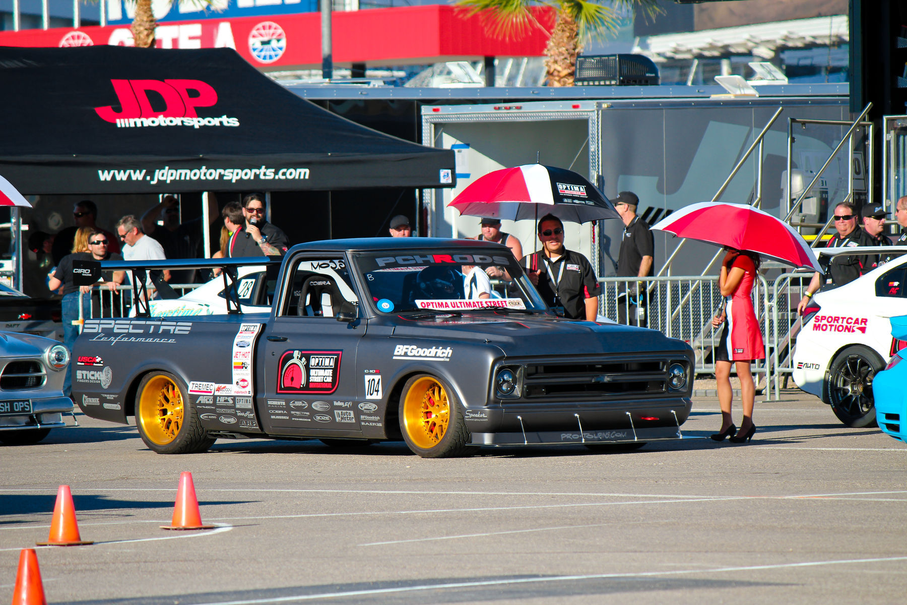 1972 Chevrolet C-10 | 1972 Chevy C10-R Spectre SEMA Show Booth Truck