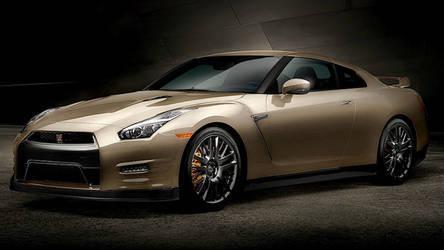 2016 Nissan GT-R   2016 Nissan GT-R Premium 45th Anniversary Gold Edition