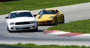 Mustang at Mid-Ohio
