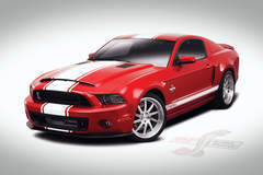 Shelby GT500 Super Snake Front Three Quarters