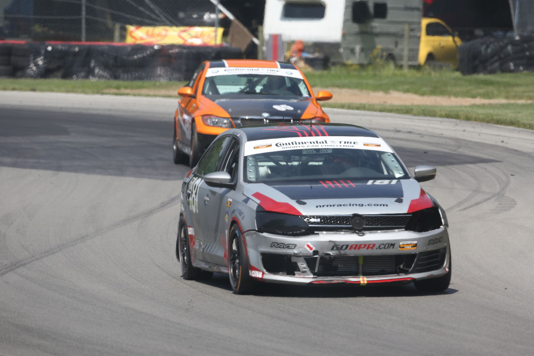 | The competition was building up, but their Continental Tires were always maintaining their grip