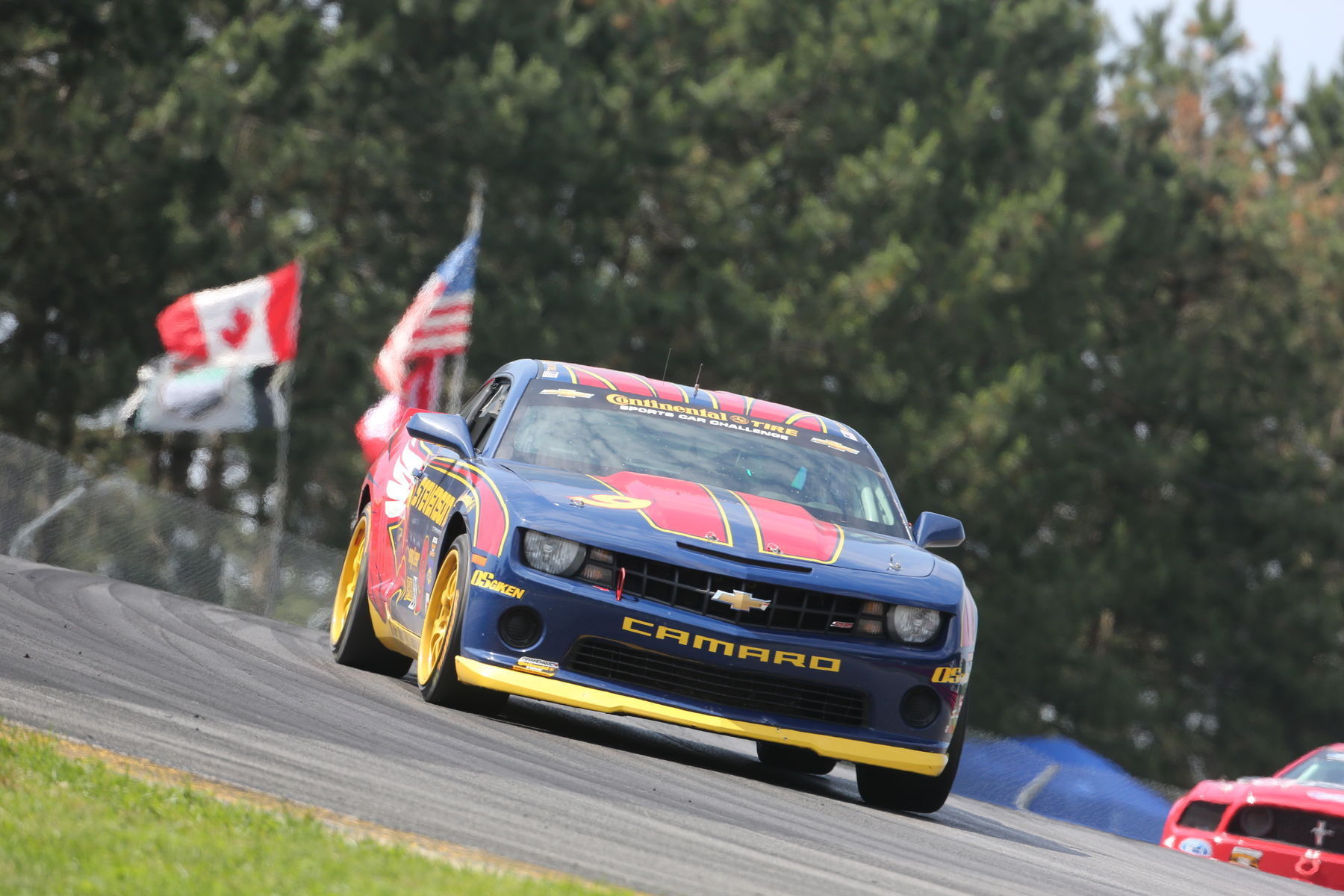 | Would you be able to keep up? Continental Tires help with the traction of your car to the track