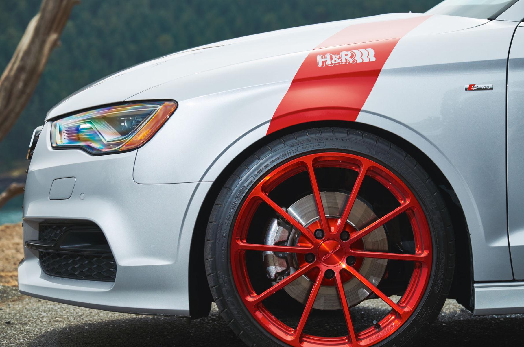 2015 Audi A3 | Audi A3 on Forgeline GT1 5-Lug Wheels