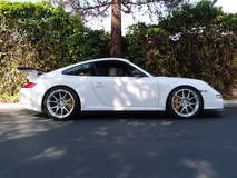 Joe Rogan's GT3RS by Sharkwerks on Forgeline GA1R Open Lug Cap Edition Wheels