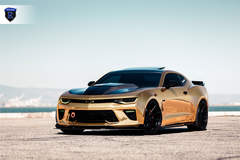 Chevy Camaro - Chrome Gold