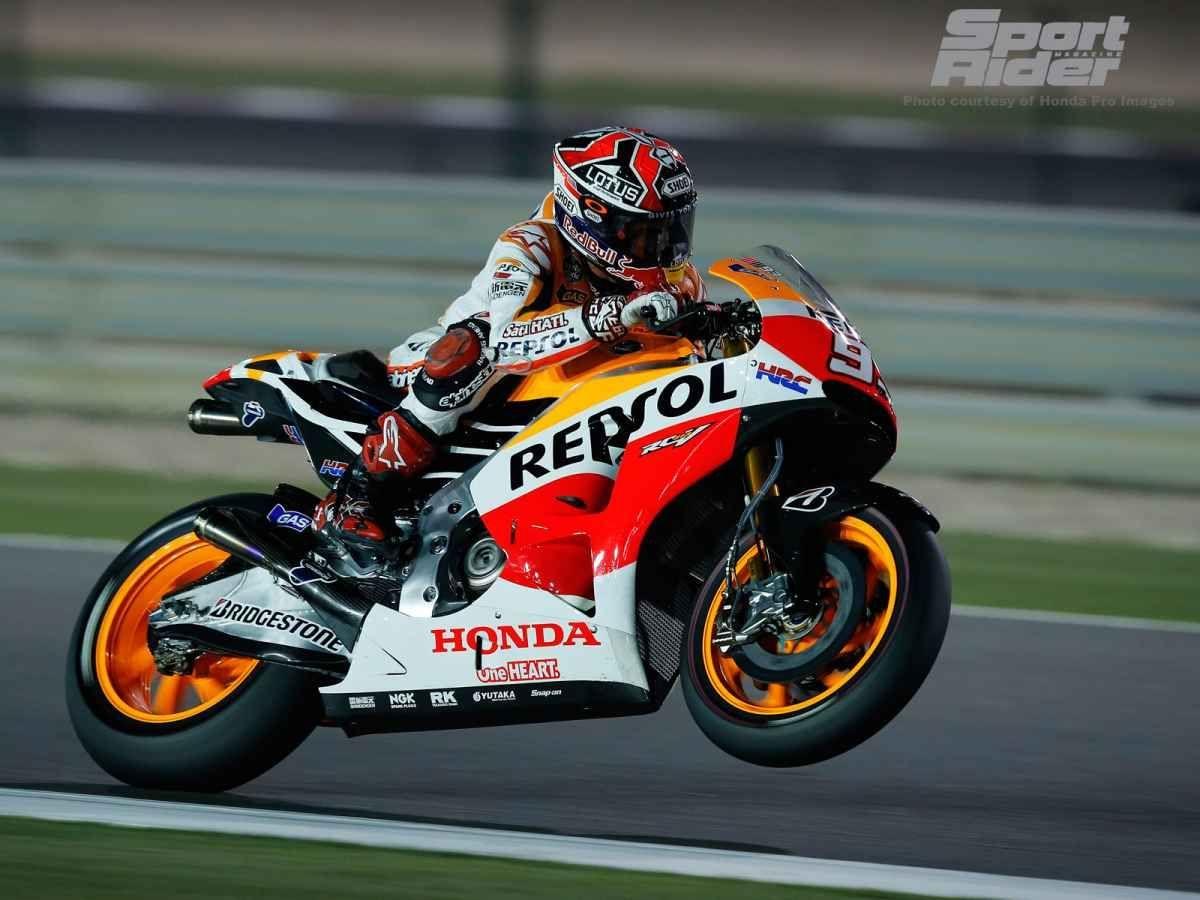2014 Honda    Marquez makes it look easy