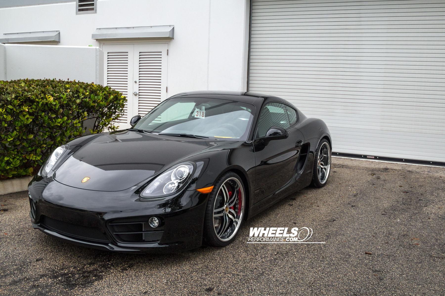 2014 Porsche Cayman S | Our client's Porsche Cayman S with 20