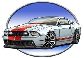 Ford Mustang designs